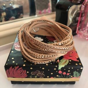💎 Swarovski Crystal Ladies Wrap Bracelet
